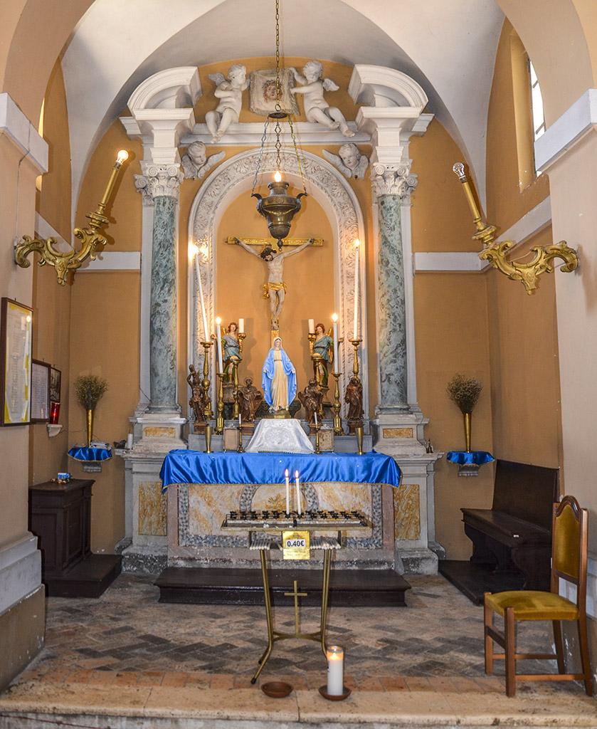 Chiesa di s antonio abate vicovaro turismo for Arredo bimbo sant antonio abate